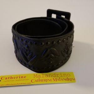 Catherine Malandrino Lambskin Belt NEW